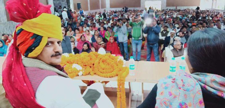 रीवा का विकास ही मेरी पहली प्राथमिकता है -राजेंद्र शुक्ल