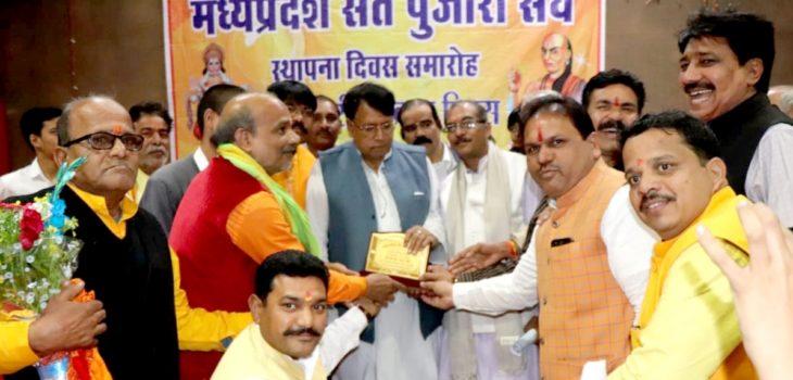 अनुदान भी मिलेगा और मानदेय भी बढ़ेगा : धर्मस्व मंत्री श्री शर्मा