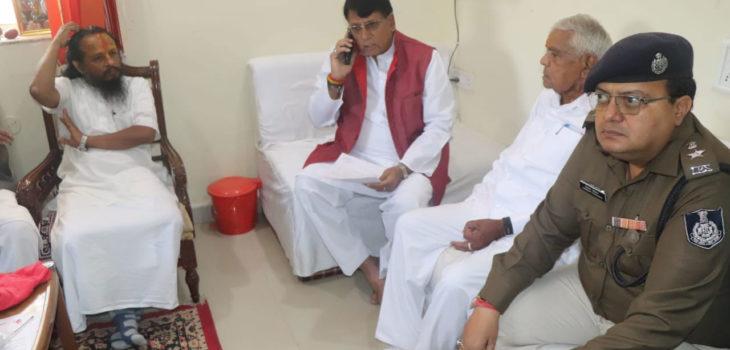मंत्री श्री शर्मा ने की महाशिवरात्रि पर्व की तैयारियों की समीक्षा